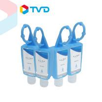 TV Direct Live Well Hand Gel. Alc. 70% 30 ml. (4Pcs/Pack) เจลทำความสะอาดมือ แอลกอฮอล์ 70% (4ชิ้น/แพ็ค)