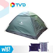 TV Direct Snappy Tent เต้นท์สปริงขนาดใหญ่ แถมฟรี หมอนลม 2 ใบ และ ถุงตาข่ายเก็บอุปกรณ์
