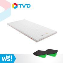 TV Direct Octasmart Plus Topper Single Size 3.5 FT ท๊อปเปอร์แผ่นรองนอน ขนาด 3.5 ฟุต แถมฟรี Dream Cushion Pro เบาะรองนั่งแสนสบาย 2 ใบ