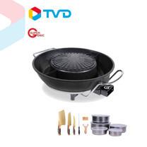TV Direct SUPER GENIC BBQ 2 in 1 พร้อมชาบู 2 น้ำ (MYS21)