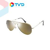 TV Direct EAGLE EYES AVIATOR FOLD-UP GOLD STAINLESS STEEL MODEL 1 เเว่นตากันแดดรุ่นพับได้