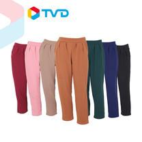 TV Direct W-Slen Pants กางเกงผ้ามูลเวฟ ทรงบอลลูน 7 ตัว 7 สี
