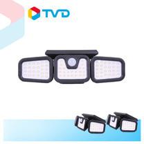 TV Direct SOLAR WIDE LIGHT ไฟโซล่าส่องสว่าง 75LED แบบปรับมุมองศาได้ 3 ชิ้น ราคา 1,490