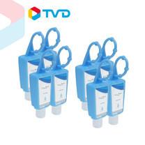 TV Direct Live Well Hand Gel. Alc. 70% 30 ml. 2Pcs เจลทำความสะอาดมือ แอลกอฮอล์ 70% 2 แพ็ค ( 8 ชิ้น)