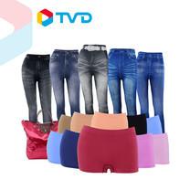 TV Direct Slimela Pants Set คุณผู้หญิงสวยเฉียบ Jegging จำนวน 5 ตัว 5 แบบ และ Slimela กางเกงในขาสั้น 10 ตัว 9 สี แถมฟรี กระเป๋าแฟชั่น 1 ใบ (คละสี)