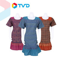 TV Direct Madam O Native Cotton Printed Size 46 ชุดผ้าฝ้ายพื้นเมือง พิมพ์ลาย 3 ชุด ไซส์ 46