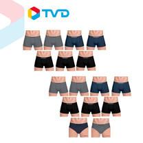 TV Direct ROSSO กางเกงชั้นในชาย รุ่น SEAMLESS TRUNK 16 ตัว