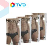 TV Direct George Underwear Man กางเกงในชายสวมสบาย 4 Set (Pack3)