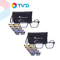 TV Direct แว่นคลิบออน SUPER EYE 1 ชุดฟรี 1 ชุด