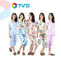 TV Direct Madam O Casual Wear Flora Print ชุดลำลองผู้ใหญ่พิมพ์ลายดอกไม้ 5 ชุด
