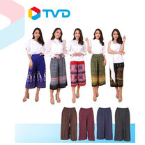 TV Direct REIYA กางเกงพลีท ลายไทย 5 ตัว แถม กางเกงพลีท 4 ตัว