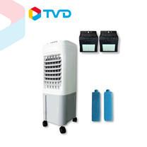 TV Direct SMART COOL JET TURBOพัดลมไอเย็นรุ่นเทอร์โบ(แถมแผ่นเจล 2 อัน) แถมฟรีไฟโซล่า 2 ชิ้น ราคา 1,990 บาท