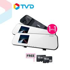 TV Direct Dengo Protection Camera กล้องติดรถยนต์ แถมฟรี Micro SD Card 16 Gb. จำนวน 2 ชิ้น (คละแบบ)
