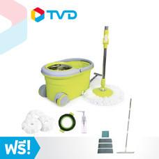 TV Direct I Solution Mop1 S700 สปินม็อบ แถมฟรี Sqaure Mop