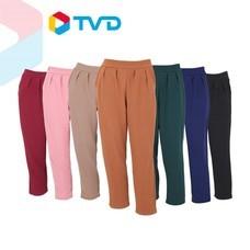 TV Direct W-SLEN กางเกงผ้ามูลเวฟ ทรงบอลลูน 7 ตัว 7 สี (TVD)