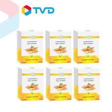 TV Direct สุเพอร์ร่า สารสกัดกระชายขาว 6 กล่อง (กล่องละ 30 แคปซูล)