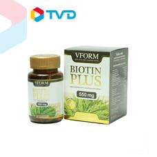 TV Direct VFORM BIOTIN PLUS(DIETARY SUPPLEMENT PRODUCT) Vform Brand ขนาด 30 แคปซูล