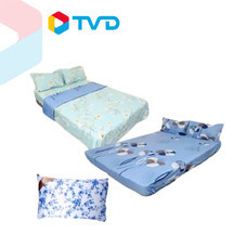 TV Direct DK HOME ชุดผ้าปูที่นอน 1 ชุด แถมชุดเล็ก 1 ชุด + หมอน 1 ใบ