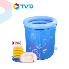 TV Direct FOLDABLE ADULT BATHTUB อ่างน้ำแช่ตัวเป่าลม