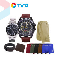 TV Direct Richer Watch Set เซ็ตนาฬิกาผู้ชายหล่อครบเซ็ต ในเซ็ตประกอบด้วย กระเป๋าสตางค์หนัง เข็มขัดหนัง กางเกงขาสั้น กางเกงในชาย