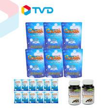 TV Direct Ultimate คอลลาเจน ไตร-เปปไทต์ 50 กรัม 6 ซอง + ขนาด 10 กรัม 12 ซอง + อัลติเมท ไรซ์เบอรี่ ออย 2 กระปุก