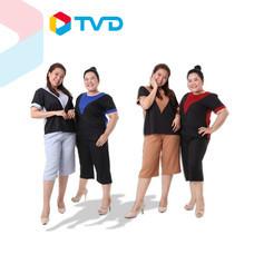TV Direct GENA ชุดเซ็ตลำลองใส่สบาย 1 เซ็ต ฟรีไซส์