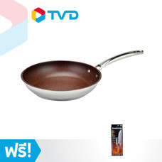 TV Direct Forged In Fire Skillet กระทะ 11.5 นิ้ว พร้อม Forged In Fire Knife Set ชุดมีด 8 นิ้ว และ 3.5 นิ้ว
