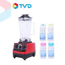 TV Direct SMART HOME เครื่องปั่นน้ำผลไม้อุตสาหกรรม แถม กระบอกน้ำ 4 ใบ