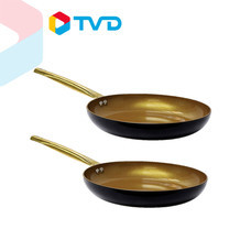 TV Direct Gold Pan 18K กระทะเคลือบทอง 2 ใบ