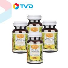 TV Direct TREO ผลิตภัณฑ์เสริมอาหารน้ำมันรำข้าวกล้อง 500 MG.30 แคปซูล 2 แถม 2