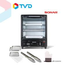 TV Direct SONAR เตาอบไฟฟ้าทรงสูง 2 ชั้น 15 ลิตร