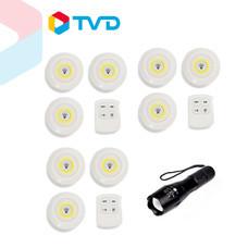 TV Direct FLASHLIGHT BY WORLD ชุดไฟส่องสว่าง LED พร้อมรีโมท