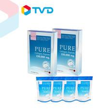TV Direct NUVITE PURE COLLAGEN 150,000 MG 2 กล่อง ฟรี ซองเล็กขนาด 50,000 MG 4 ซอง ราคาพิเศษ 1,790 บาท