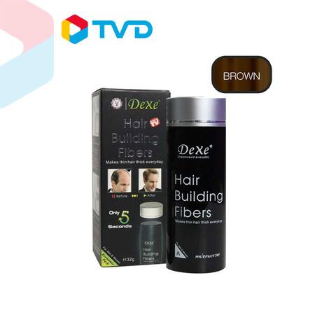 TV Direct Velform Dexe Hair Building Fiber (32g.) ผงไฟเบอร์เพิ่มผมหนา (32 กรัม)