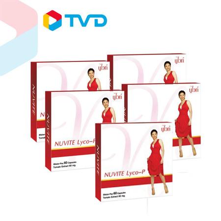 TV Direct NUVITE LYCO P 4 กล่อง พร้อมรับทันที!! NUVITE LYCO P 1 กล่อง ราคา 1,990 บาท