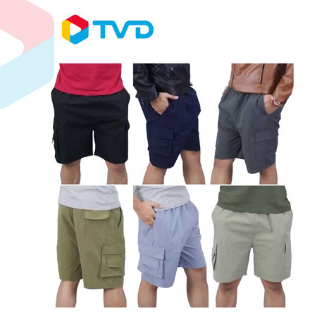 TV Direct Marc Marco Men Pants กางเกงผู้ชายขาสั้น 4 ส่วน 6 ตัว