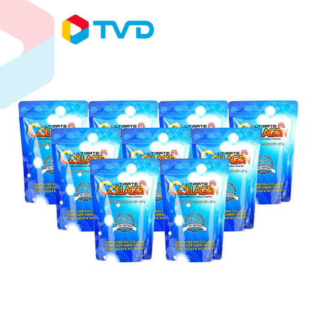 TV Direct Ultimate Collagen Tri-Peptide อัลติเมทคอลลาเจนไตรเปปไทด์ ขนาด 50 กรัม 9 ซอง