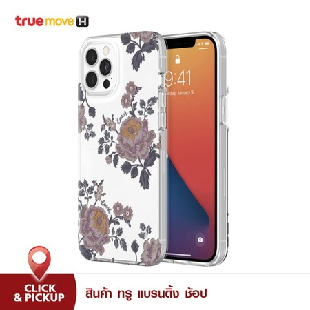เคส iPhone 12 Pro Max Coach Protective Shell - Flora Clear