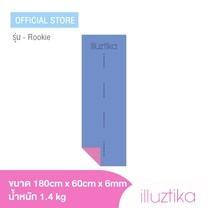 เสื่อโยคะ illuztika - Rookie สีม่วงชมพู รุ่น YM604