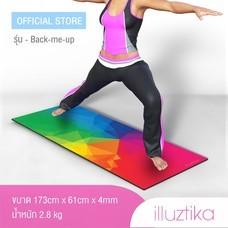 เสื่อโยคะ illuztika - Backmeup ลาย Prism รุ่น YM501