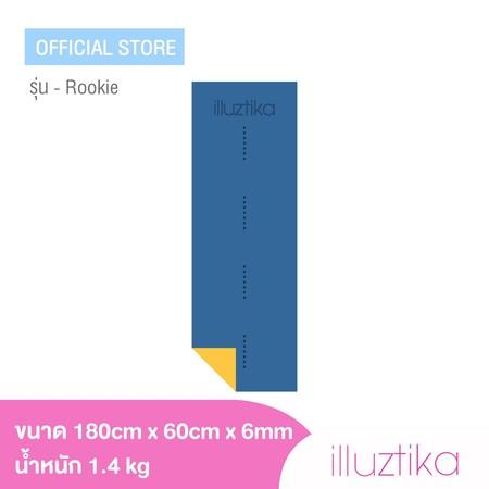 เสื่อโยคะ illuztika - Rookie สีน้ำเงินเหลือง รุ่น YM603