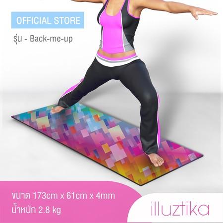 เสื่อโยคะ illuztika - Backmeup ลาย Disco รุ่น YM510
