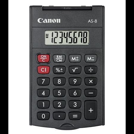 เครื่องคิดเลข Canon รุ่น AS-8 (HB)