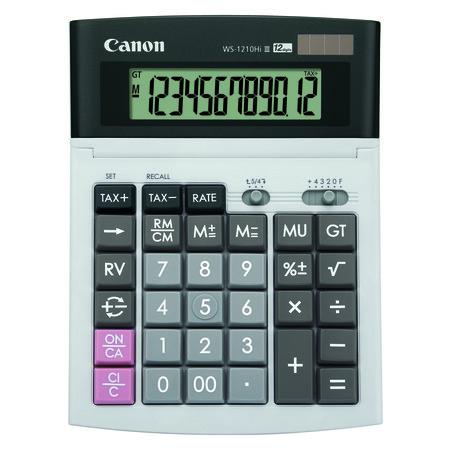 เครื่องคิดเลข Canon รุ่น WS-1210Hi lll