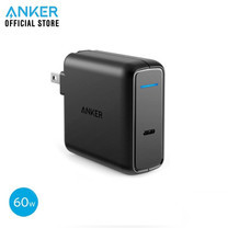 Anker PowerPort Speed1 PD 60W หัวชาร์จ adapter ชาร์จเต็มเร็วด้วยเทคโนโลยี Power Delivery (PD)