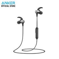 Anker Soundcore Spirit Pro หูฟังบลูทูธ สำหรับออกกำลังกาย มีปุ่มควบคุมเพลงและไมโครโฟนในตัว - Black (ประกัน 18 เดือน)