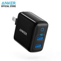 Anker PowerPort II หัวชาร์จ ช่องเสียบชาร์จ USB 2 พอร์ท - Black