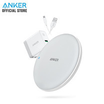 Anker PowerWave 7.5 Pad with Quick Charge 3.0 ที่ชาร์จเร็วแบบไร้สาย Fast Wireless Charger - White (ประกัน 2 ปี)