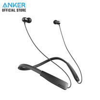 Anker SoundBuds Lite หูฟังบลูทูธ มีปุ่มควบคุมเพลงและไมโครโฟนในตัว กันเหงื่อและกันน้ำระดับ IPX5- Black (ประกัน 2 ปี)