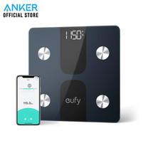 Eufy Body Scale Weight C1 เครื่องชั่งน้ำหนักอัจฉริยะ เชื่อมต่อผ่าน Bluetooth วัดค่าสุขภาพ 12 รายการ - Black